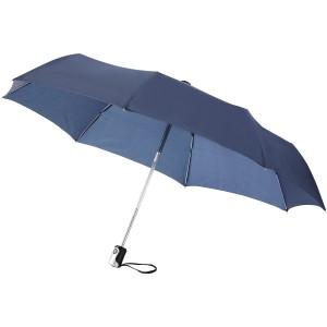 Alex 21.5-es összecsukható automata esernyő, kék